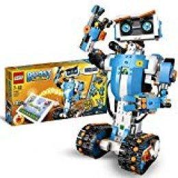 LEGO BOOST - Caja de Herramientas Creativas, Set de Construcción 5 en 1 con Robot de Juguete para Programar y Jugar (17101)
