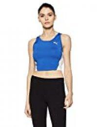 PUMA Cross The Line Croptop W Camiseta De Tirantes, Mujer, Team Power Blue, S