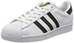 Adidas Originals Superstar, Zapatillas Deportivas Mens, Footwear White/Core Black/Footwear White, 40 EU