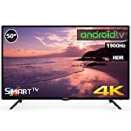 "Television LED 50"" 4K INFINITON Smart TV-Android TV (TDT2, HDMI, VGA, USB) (50 Pulgadas)"