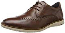 Josef Seibel Tyler 33, Zapatos de Cordones Derby para Hombre, Braun Cognac 147 370, 45 EU