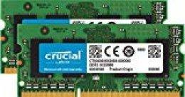 Crucial CT2K4G3S1067M- Kit de memoria para Mac de 8 GB (4GB x 2, DDR3, 1066 MT/s, PC3-8500, SODIMM, 240-Pin)