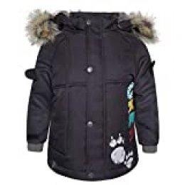Tuc Tuc Artic Bears Abrigo Parka Pelo con Capucha, Marrón (Marrón 15), 74 (Tamaño del Fabricante:9M) para Niños