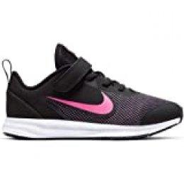 Nike Downshifter 9 (PSV), Zapatillas de Running para Asfalto para Niños, Multicolor (Black/Hyper Pink/White 003), 33 EU