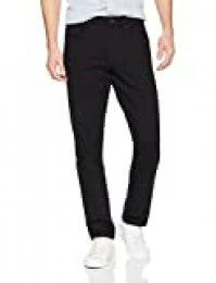 Marca Amazon - Goodthreads Slim-fit 5-Pocket Chino Pant Pantalones, (Black), ((Talla del fabricante: 29W x 29L)