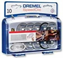 Dremel SC690 Juego de Accesorios de Corte EZ SpeedClic para Herramientas Rotatorias