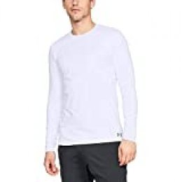 Under Armour Fitted Coldgear Crew - Camiseta De Manga Larga Hombre