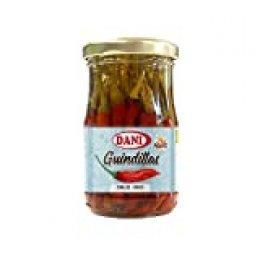 Dani - Guindillas enteras (piripiri rojo) en vinagre 190 gr.