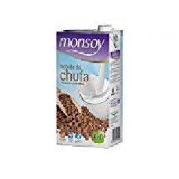 Monsoy - Bebida Ecológica de Chufa - Caja de 4 x 1L