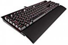 Corsair Gaming K70 Lux Black Red LED Cherry MX Bro USB - Teclado (USB, Juego)