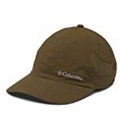 Columbia Tech Shade Hat Gorra, Unisex Adulto, Verde (New Olive), One Size (Adjustable)