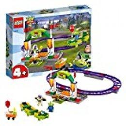 LEGO 4+ Toy Story 4: Alegre Tren de la Feria, Juguete de Construcción de Disney Pixar, Atracción con Minifigura de Buzz Lightyear (10771)