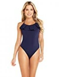 Sylvie Flirty Swimwear Bendi, Traje de Baño de Una Pieza para Mujer, Azul (Mare Blue 4977), 40 (Talla del fabricante: 38C)