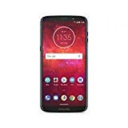 "Motorola Z3 Play + Moto Mod Bateria - Smartphone de 6"" (Qualcomm Snapdragon DE 1.8 GHz, 4 GB de RAM, 64 GB de Memoria, cámara de 12 MP, Android 8.0) Color Azul Oscuro"