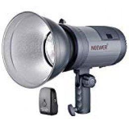 Neewer Flash Estroboscópica Alimentado por batería Para Sesión fotográfica al Aire Libre con Sistema 2.4G, 2kg Monolight para Sesiones al exterior, Montaje de Bowens