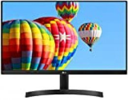 "LG 24MK600M-B - Monitor FHD de 60,4 cm (23,8"") con Panel IPS (1920 x 1080 píxeles, 16:9, 250 cd/m², NTSC >72%, 1000:1, 5 ms, 75 Hz) Color Negro"