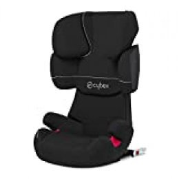 Cybex Solution X-Fix - Silla de coche grupo 2/3, para coches con ISOFIX, 15-36kg, Negro (Pure Black)