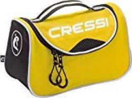 Cressi Kandy Bag Bolsa de Deporte, Unisex Compacta, Amarillo/Negro, Una Talla