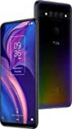"TCL PLEX – Smartphone de 6.53"" (Octacore Snapdragon 675, RAM de 6GB, memoria interna de 128GB, ampliable micro SD, triple cámara trasera 48MP + 16MP + 2MP, cámara frontal 24MP) color negro"