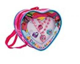 Joy Toy 65140 - Juego de Collares/Pulsera y 2 Anillos en Forma de corazón