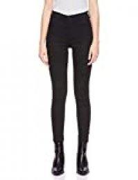 Wrangler HIGH RISE SKINNY Pantalones, Negro (Rinsewash 023), 26W / 30L para Mujer