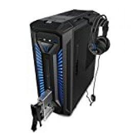 MEDION X30 RGB - Ordenador de sobremesa gaming (Intel Core i5-8400, 16GB RAM, 1TB HDD + 256GB SSD, Nvidia GTX1060-3GB, Windows 10) Negro
