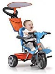 FEBER 800012100 Baby Plus Music - Triciclo para niños y niñas de 9 meses a 3 años