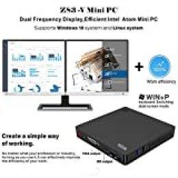 Beelink Z83-V Mini PC Mini Ordenador de Sobremesa con Intel Atom x5-Z8350, 4GB RAM 64GB ROM, 2.4G/5G WIFI, 1000Mbps, BT 4.0, HDMI y VGA, Preinstalado Windows 10 Home