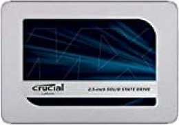 Crucial MX500 250GB CT250MX500SSD1(Z) Unidad interna de estado sólido-hasta 560 MB/s (3D NAND, SATA, 2.5 Pulgadas)