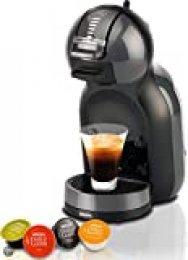 Dolce Gusto Krups KP1208 - Cafetera de cápsulas Mini Me, 15 bares de presión, color negro y gris