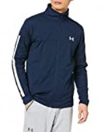 Under Armour Sportstyle Pique Track Jacket Chaqueta, Hombre, Azul (Academy/Academy/White 409), L