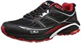 CMP - F.lli Campagnolo HAPSU Shoe, Zapatillas de Nordic Walking para Hombre, Negro (Nero-MALBORO 87UE), 40 EU