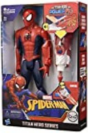 Hasbro Marvel Spider-Man Titan Hero Power FX con Lanzador de Brazo, Multicolor
