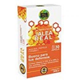 Jalea real con propóleo para mayor energía y vitalidad - Jalea con própolis y vitamina C para reforzar nuestro sistema inmune - 30 ampollas