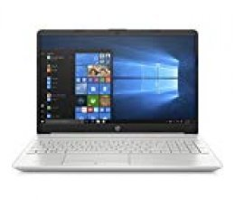 "HP 15-dw0010ns - Ordenador portátil de 15.6"" HD (Intel Core i3-7020U, 8GB RAM, 256GB SSD, Intel Graphics, Windows 10) color plata - teclado QWERTY Español"