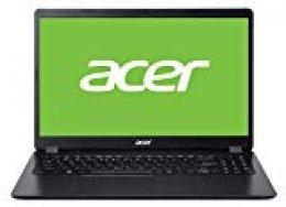 "Acer Aspire 3 - Ordenador Portátil de 15.6"" FHD ComfyView LED LCD (AMD Ryzen 3 3200U, 4 GB de RAM, SSD de 128GB PCIe NVMe, Sin sistema operativo) Negro - Teclado QWERTY Español"