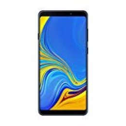 "Samsung Galaxy A9 - Smartphone de 6.3"" (4G, Octa-Core, RAM de 6 GB, Memoria de 128 GB, 4 cámaras de 24+5+10+8 MP, Android), Azul"