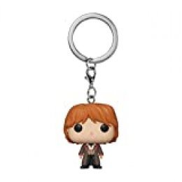 Funko- Keychain Harry Potter Llavero Ron Weasley, Color Mulitcolor, One-Size (FK42630)