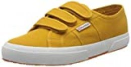Superga 2750-cot3strapu, Zapatillas de Gimnasia Unisex Adulto, Amarillo (Yellow Golden W8u), 41 EU