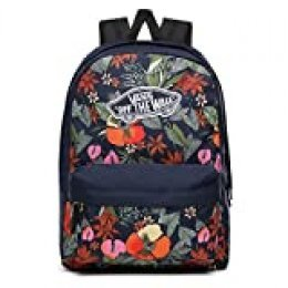 Vans Ss20 Realm BackPACK, OS Negro mochila, Mochila real, VN0A3UI6W141, Vestido Multi Tropic Blues
