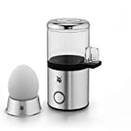 WMF Küchenminis Cocedor 1 Huevo, 55 W, con Tritan libre de BPA, incluye huevera, medidor de agua y acabados en acero inoxidable de cromargan
