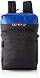 LEVIS FOOTWEAR AND ACCESSORIES - The Levi's® L Pack Standard Issue Colorblock, Hombre, Negro (Noir), 13x26x41 cm (W x H L)