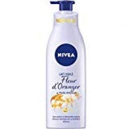 NIVEA - Aceite de Flor de Naranja/Aceite de Aguacate, 200 ml, Lote de 4