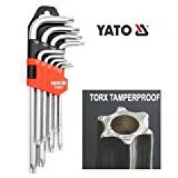 Yato YT-0511 - Llaves trox 9 pza t10 - t50 CR-V Yato