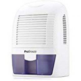 Pro Breeze PB-03-EU - Deshumidificador mini de aire 1500 ml, compacto y portátil