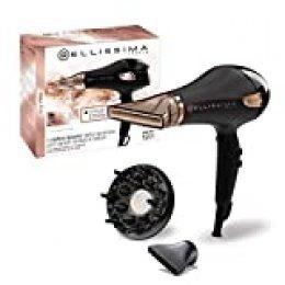 Imetec - Bellissima My Pro Ceramic P5 3800 Secador profesional para cabellos suaves y luminosos, tecnología cerámica, 2300W, concentrador ultraestrecho, difusor, tecnología de iones
