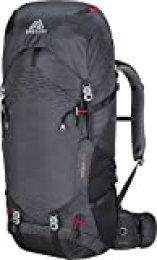 Gregory Stout–65–Mochila, Todo el año, Color Coal Grey, tamaño 35 cm x 18 cm x 72 cm