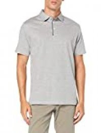 Hackett Polka Dot Trim Polo, (Light Grey Marl 913), Large para Hombre
