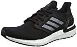 adidas Ultraboost 20, Zapatillas para Correr para Hombre, Core Black/Night Met./FTWR White, 35.5 EU