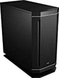 Aerocool DS230, Caja PC ATX, Fuente trasera PWM, Iluminación LED 7colores, Negro